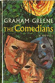 <em>The comedians</em> by Graham Greene