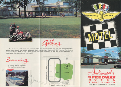 Indianapolis Speedway Motel and Golf Clubhouse,  ca.1965