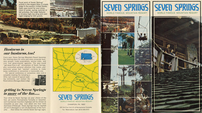 Seven Springs, world famous mountain resort, ca.1969