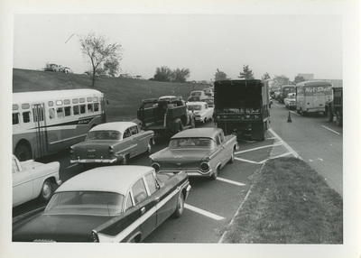 Traffic congestion, Shirley Highway, 1960 [1]