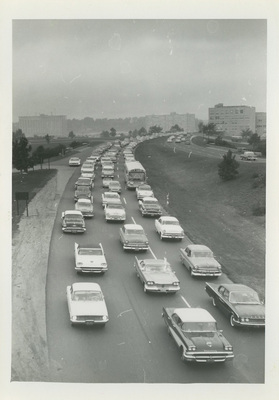 Traffic Congestion, Shirley Highway 1960 [2]