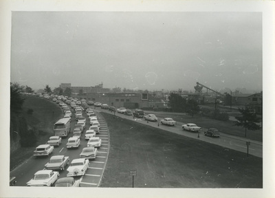 Traffic congestion, Shirley Highway, 1960 [3]
